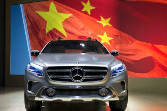 Mercedes-Benz en China