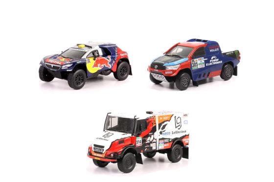 Atención coleccionistas: llegan los nuevos autos a escala del Dakar