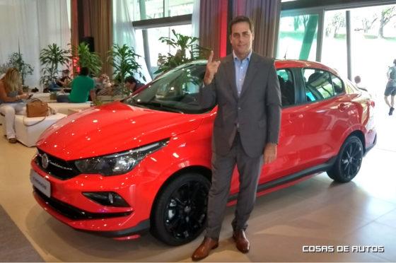 Martín Zuppi, director comercial de FCA Automobiles Argentina