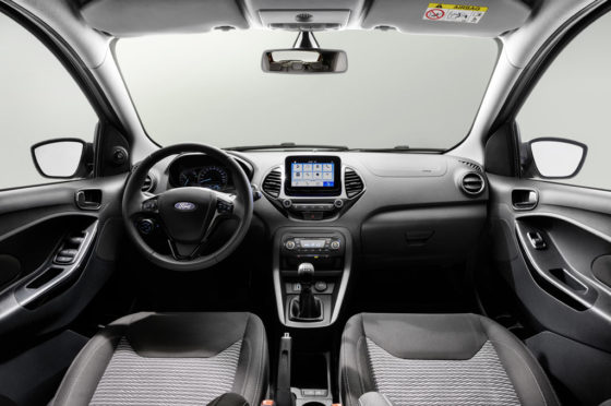 Interior del Ford Ka Europa