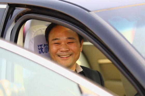 Li Shufu, CEO de Geely Holdings