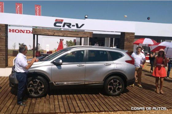 Honda CR-V en ExpoAgro