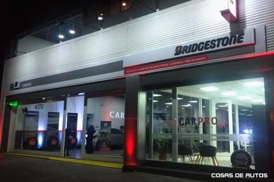 Abrió el centro Car Pro de Bridgestone