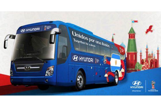 Hyundai bus de Argentina