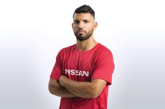 Sergio Agüero, embajador deportivo de Nissan