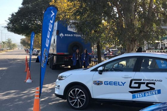 Road Tour Geely
