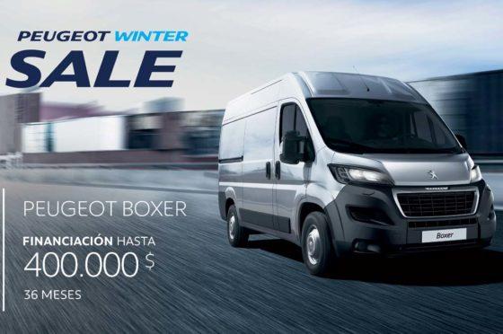 Peugeot Boxer winter sale
