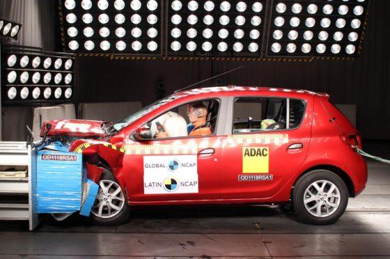 Renault Sandero - LatinNCAP