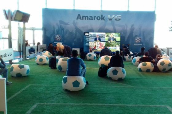 Estadio Amarok en Ezeiza durante el Mundial 2018