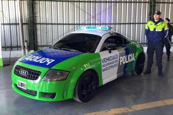 Patrullas alta gama de la Policía Bonaerense