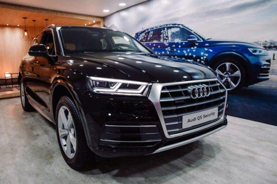 Audi Q5 Security