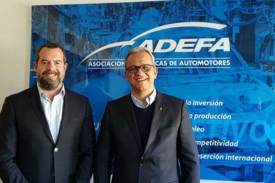 Nissan socio de ADEFA