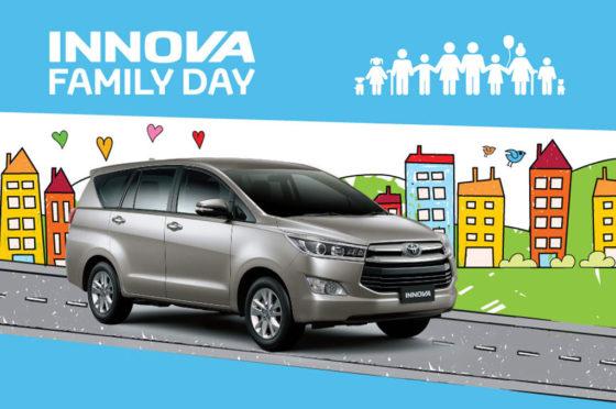 Toyota Innova Family Day