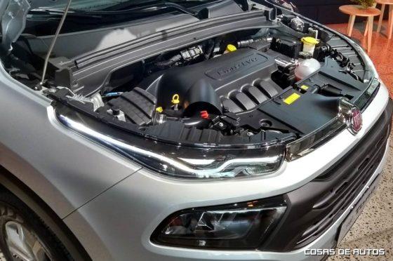Fiat Toro motor Nafta 1.8