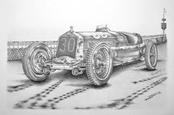 Alfa Romeo P2 de la Targa Florio