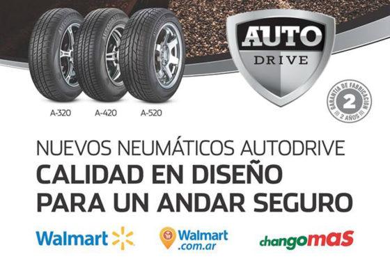 Fate y Walmart firmaron un acuerdo: lanzan los neumáticos AutoDrive