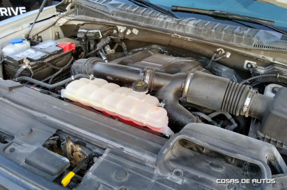 Motor V6 de la F-150 Raptor