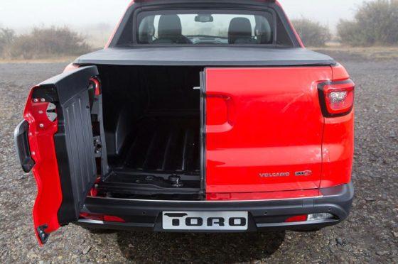 Fiat Toro portón trasero