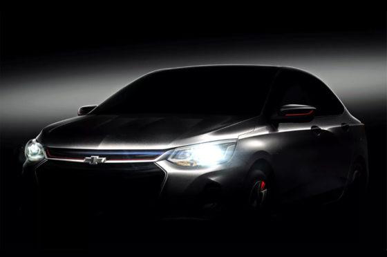 Teaser del Nuevo Chevrolet Prisma
