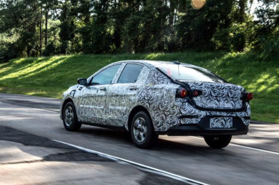 Proyecto Nuevo Chevrolet Onix Sedan