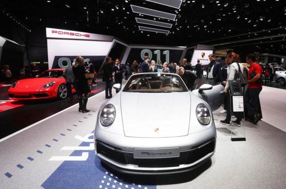 Porsche en Ginebra 2019