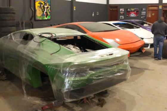 Lamborghinis Truchos en Brasil
