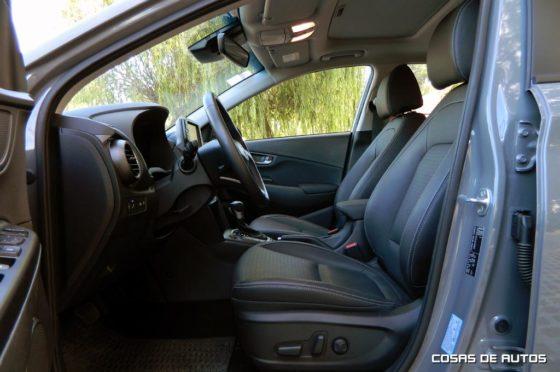 Interior del Hyundai Kona - Foto: Cosas de Autos