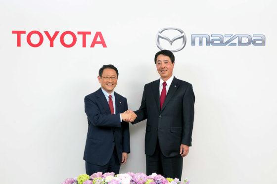 Toyota y Mazda joint venture