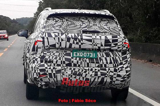 VW Tarek vista en Brasil