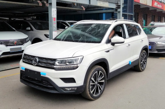 VW Tharu en China