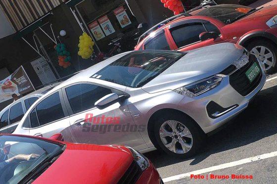 El Nuevo Chevrolet Onix camuflado en Brasil