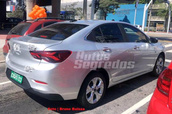 Nuevo Chevrolet Onix camuflado en Brasil
