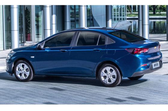 Una vista del Nuevo Chevrolet Onix - China