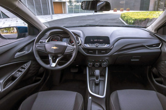 Interior del Nuevo Chevrolet Onix - China