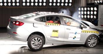 LatinNCAP - Chevrolet Cruze 2019