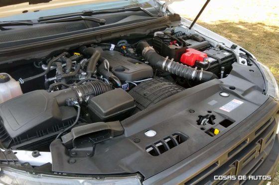 Motor de la Ford Ranger Raptor