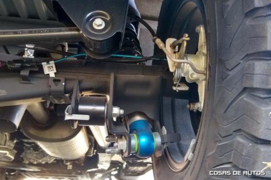 Suspensión de la Ford Ranger Raptor