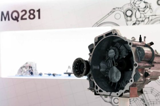Caja de velocidades MQ281 de VW