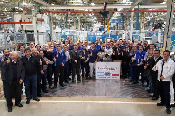 VW Argentina exportó las primeras cajas de velocidad MQ281 a Europa