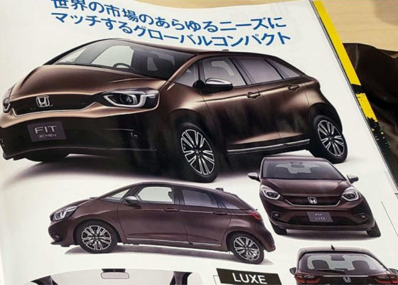 Nuevo Honda Fit Luxe