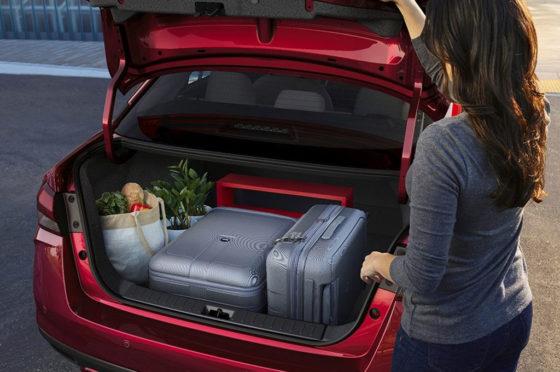 Baúl del Nissan Versa