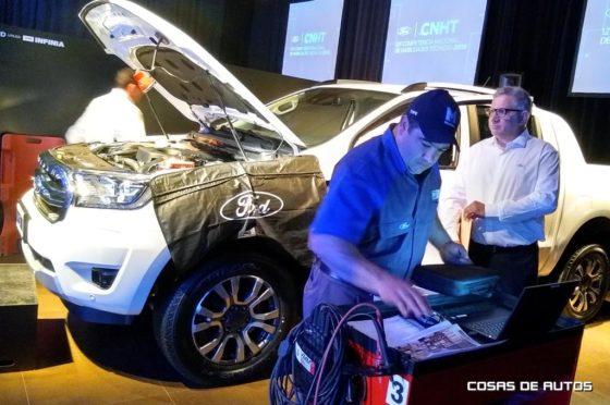 Concurso de Habilidades técnicas de Ford