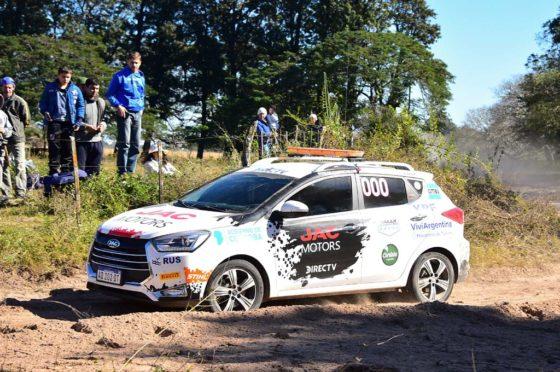 JAC junto al Rally Argentino