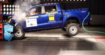 Ford Ranger es cuatro estrellas LatinNCAP