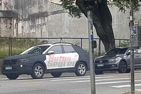 VW New Urban Coupé en pruebas en San Pablo - Foto: Autos Segredos