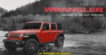 Jeep Wrangler Spot Mountain