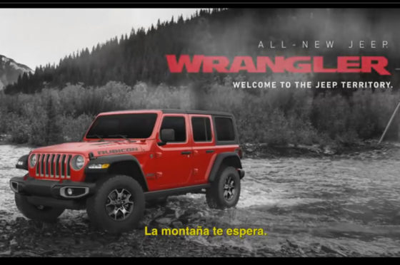 Jeep Wrangler Spot Mountain
