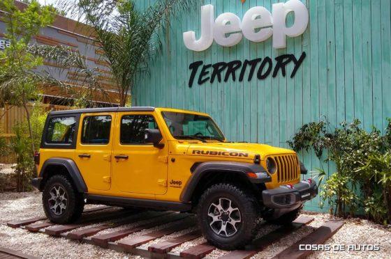 Nuevo Jeep Wrangler en Cariló