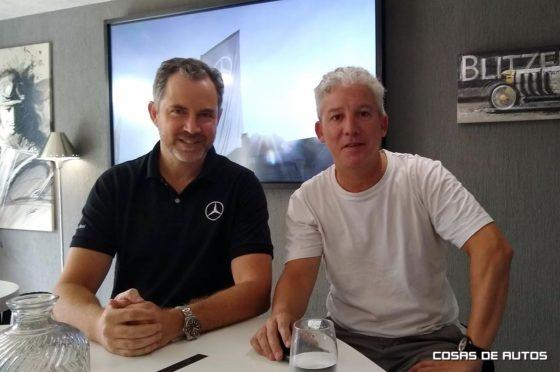Mercedes-Benz Argentina Christian Kimelman y Jorge Lucini