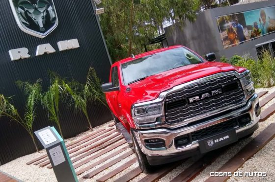 Nueva RAM 1500 en Cariló